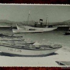Fotografía antigua: FOTOGRAFIA DE BAYONA, VIGO (PONTEVEDRA) MIDE 18 X 11,7 CMS.. Lote 56933435
