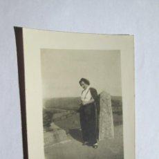 Fotografía antigua: MUJER WOMAN FEMME TANDIL ARGENTINA. Lote 56970096