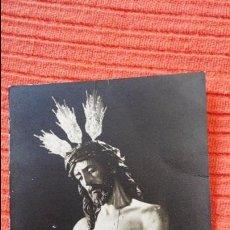 Fotografía antigua: ANTIGUA FOTOGRAFIA DE CRISTO.HERMANDAD DE SAN BENITO.SEVILLA.FOTO FERNAND.AÑOS 60. Lote 57048866