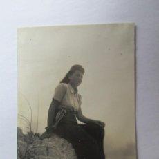 Fotografía antigua: MUJER WOMAN FEMME. Lote 57096953