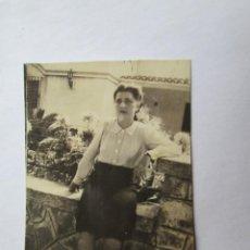 Fotografía antigua: MUJER WOMAN FEMME. Lote 57126500