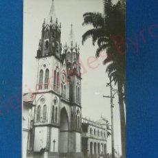 Alte Fotografie - FOTOGRAFÍA. CATEDRAL. SANTA ISABEL. FERNANDO POO. 1960 (14 X 9CM) - 57178584