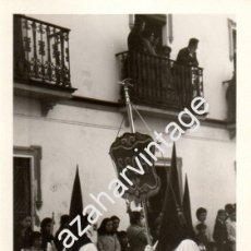 Fotografía antigua: SEMANA SANTA DE DOS HERMANAS, LOTE DE TRES ANTIGUAS FOTOGRFIAS ORACION EN EL HUERTO,75X105MM. Lote 57193087
