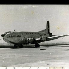 Fotografía antigua: FOTOGRAFIA MILITAR AVION FUERZA AEREA DE ESTADOS UNIDOS U.S AIR FORCE . Lote 57240047