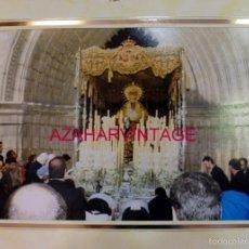 Fotografía antigua: SEMANA SANTA SEVILLA, ESPECTACULAR FOTOGRAFIA PALIO DE SAN ESTEBAN, LEER MEDIDAS. Lote 57525115