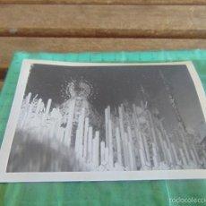 Fotografía antigua: FOTO FOTOGRAFIA SEMANA SANTA DE ALCALA DEL RIO SEVILLA VIRGEN DE LAS ANGUSTIAS. Lote 57718127