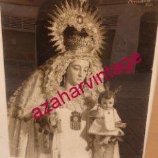 Fotografía antigua: SEVILLA, ESPECTACULAR FOTOGRAFIA DE NTRA.SRA.DE LA MERCED DE SAN GREGORIO,49X59 CMS,UNICA. Lote 57795394