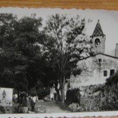 Fotografía antigua: ERMITA O SANTUARIO. Lote 57972487