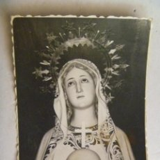 Fotografía antigua: FOTO DE UNA VIRGEN INMACULADA. AÑOS 50. Lote 58105629