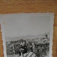 Fotografía antigua: SEÑORITA EN TRAJE REGIONAL. Lote 58115182