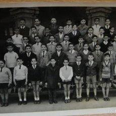 Fotografía antigua: COLEGIO LA INMACULADA , HH MARISTAS DE BARCELONA CURSO ELEMENTAL B 1960-61. Lote 58143066