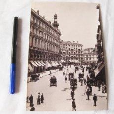 Fotografía antigua: FOTOGRAFIA IMPRESA HAUSER Y MENET. 101. MADRID. CALLE DE SEVILLA. COMISARIA REGIA DEL TURISMO. Lote 58540794