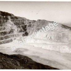 Fotografía antigua: ESPECTACULAR FOTOGRAFIA DE LAS MINAS DE CALA, HUELVA,178X128MM. Lote 58681022