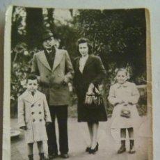 Fotografía antigua - MINUTERO FOTOGRAFO DEL PARQUE Mª LUISA , SEVILLA, 1963 - 58776391