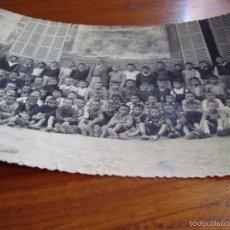 Fotografía antigua: FOTOGRAFIA ORIGINAL MASCARÓ. ESCUELA GRADUADA DE LLUBÍ. MALLORCA.. Lote 58867431