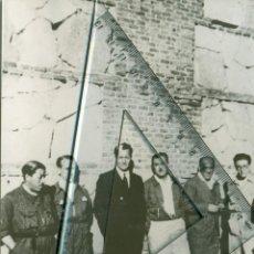 Fotografia antica: GUERRA CIVIL. FALANGE ESPAÑOLA. JOSE ANTONIO Y RUIZ DE ALDA EN LA CARCEL. MADRID.1936. FRANCE PRESSE. Lote 59523531