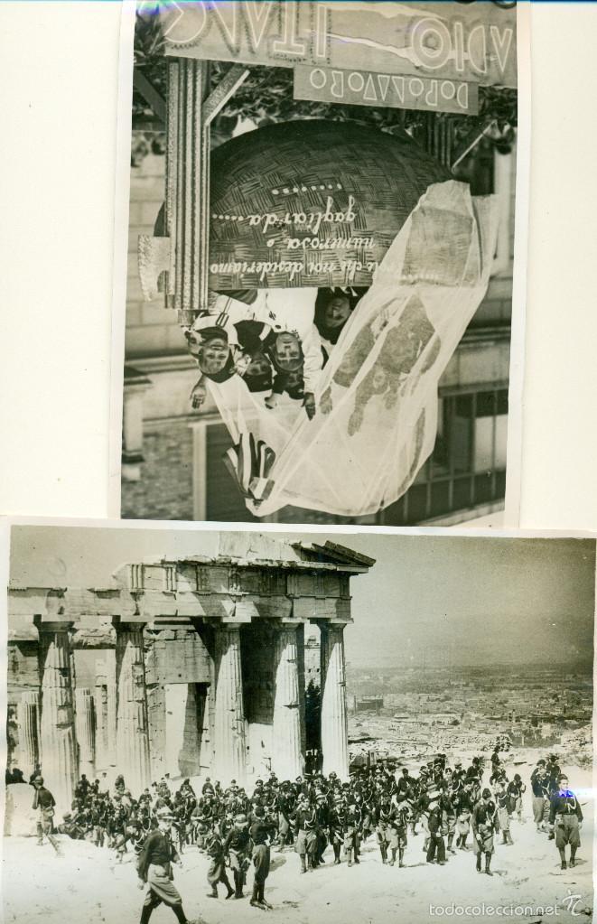 FASCISMO ITALIANO. MUSSOLINI. LOS BALILLAS. LOTE DE 24 GRANDES FOTOS. HACIA 1930-1938. (Fotografía Antigua - Fotomecánica)