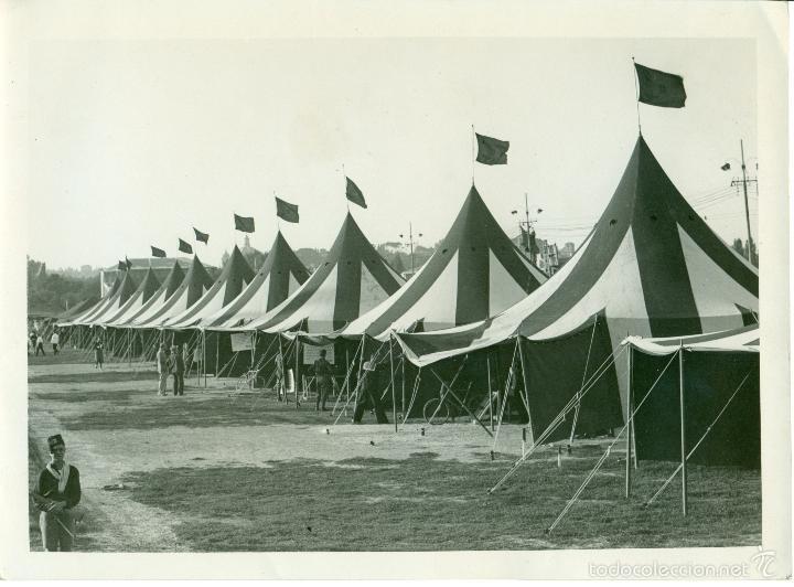 Fotografía antigua: FASCISMO ITALIANO. MUSSOLINI. LOS BALILLAS. LOTE DE 24 GRANDES FOTOS. HACIA 1930-1938. - Foto 7 - 59530171