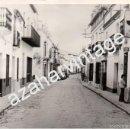 Fotografía antigua: PEÑAFLOR, SEVILLA, ANTIGUA FOTOGRAFIA, VISTA DE LA CALLE PRINCIPAL, 178X128MM. Lote 59825164