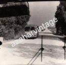 Fotografía antigua: ANTIGUA FOTOGRAFIA, CARRETERA DEL AEROPUERTO DE MORON DE LA FRONTERA,180X136MM. Lote 60611659
