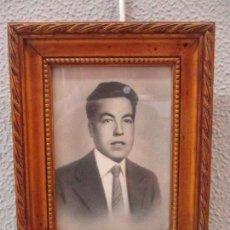 Fotografía antigua: ANTIGUA FOTOGRAFÍA - FOTO DE ESTUDIO - CON MARCO DE ESTUCO DORADO. Lote 61515319