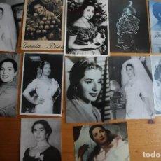 Fotografía antigua: LOTE 12 FOTOS DE JUANITA REINA. Lote 61635864