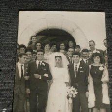 Fotografía antigua: FOTOGRAFIA DE BODA AÑOS 60.. Lote 64463287