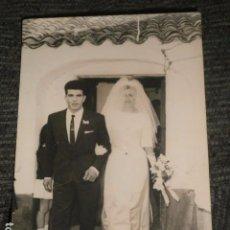 Fotografía antigua: FOTOGRAFIA BODA AÑOS 60.. Lote 64463547