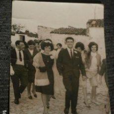Fotografía antigua: FOTOGRAFIA BODA AÑOS 50-60.. Lote 64465519