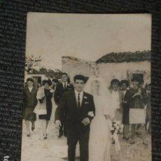 Fotografía antigua: FOTOGRAFIA BODA AÑOS 50-60.. Lote 64466823