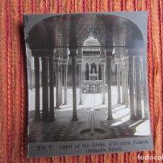 Fotografía antigua: 1900C - LA ALHAMBRA. GRANADA. FOTOGRAFÍA ORIGINAL.. Lote 65362783