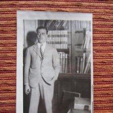 Fotografía antigua: 1931-JULIO GUILLÉN TATO. ALMIRANTE DE MARINA. FOTOGRAFIA ORIGINAL. Lote 65794398