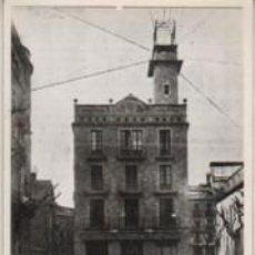 Fotografía antigua: FOTO DE LA PLAZA FIUS Y PALA DE MANRESA - TELEFONICA ANTIGUA -. Lote 66027634
