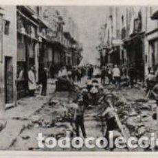 Fotografía antigua: FOTO DE LAS OBRAS DEL BORN DE MANRESA - . Lote 66028718