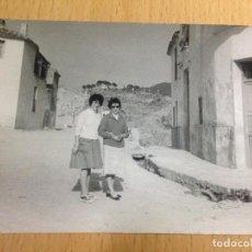 Fotografía antigua: ANTIGUA FOTOGRAFIA COFRENTES VALLE DE AYORA VALENCIA. Lote 66156322