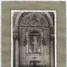 Fotografía antigua: CAPELLA DEL PRIMER COL·LEGI SANTA ELISABETH AL CARRER LAFORJA - FOTO: ATELIER STEGMAIER - 1945. Lote 66492190