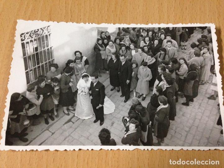 ANTIGUA FOTOGRAFIA BODA POPULAR AYORA VALENCIA (Fotografía Antigua - Fotomecánica)