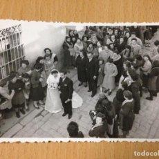 Fotografía antigua: ANTIGUA FOTOGRAFIA BODA POPULAR AYORA VALENCIA. Lote 67569217