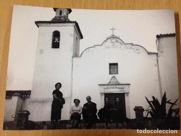 ANTIGUA FOTOGRAFIA ERMITA IGLESIA AYORA VALENCIA (Fotografía Antigua - Fotomecánica)