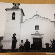 Fotografía antigua: ANTIGUA FOTOGRAFIA ERMITA IGLESIA AYORA VALENCIA. Lote 67569445
