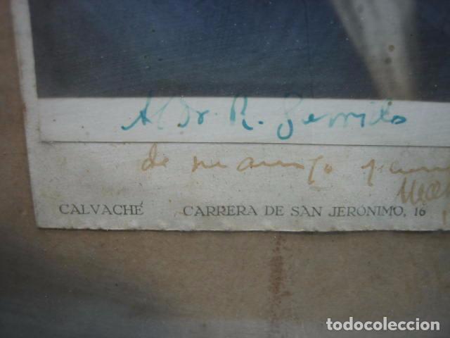 Fotografía antigua: Foto antigua de un señor de Córdoba. Al Doctor R. Garrido de mi amigo y compañero Marañon 30x22,5 cm - Foto 2 - 67837821