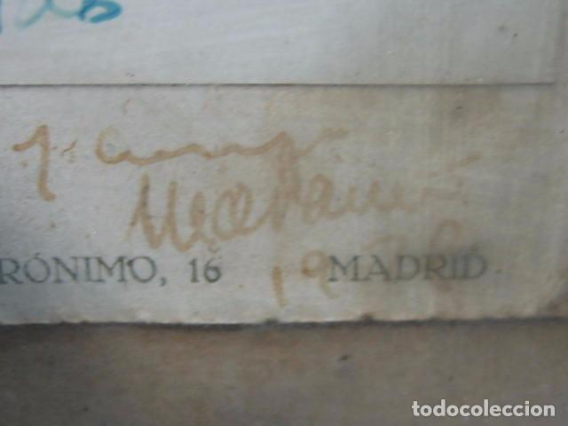 Fotografía antigua: Foto antigua de un señor de Córdoba. Al Doctor R. Garrido de mi amigo y compañero Marañon 30x22,5 cm - Foto 5 - 67837821