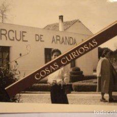 Fotografía antigua: FOTOGRAFIA ARANDA DE DUERO BURGOS - ALBERGUE - AÑOS 1940/50 MIRA OTRAS SIMILARES. Lote 68621525