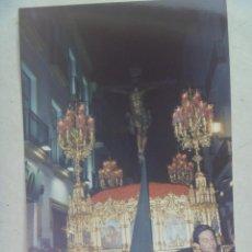 Fotografía antigua: SEMANA SANTA DE SEVILLA : FOTO DE CRISTO CRUCIFICADO . Lote 68763557