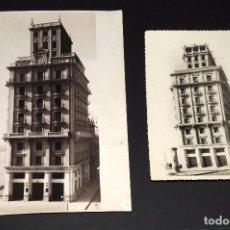 Fotografía antigua: MONTEPIO DE LERIDA. LOTE DE 2 FOTOS ORIGINALES AÑOS 1940S. PORTA Y FARRAN FOTÓG. . Lote 69402281