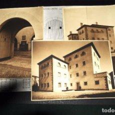 Fotografía antigua: CASTELLDANS (LÉRIDA). CONSTRUCCIÓN CASA CUARTEL GUARDIA CIVIL. LOTE 12 FOTOS ORIGINALES. AÑOS 1940S. Lote 69406749