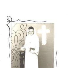 Fotografía antigua: NIÑA EN SU PRIMERA COMUNIÓN. METZ. FRANCIA. Lote 69661993
