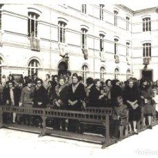 Fotografía antigua: PÚBLICO EN LA ACADEMIA GENERAL DE ZARAGOZA. Lote 69662825