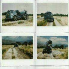 Fotografía antigua: LOTE DE CINCO FOTOGRAFÍAS PLASTIFICADAS PAPEL KODAK FILM. AÑOS 70.. Lote 69732369