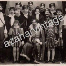Fotografía antigua: BADAJOZ, AÑOS 40, FOTOGRAFIA REPRESENTACION TEATRAL, FOTO PEPE, 138X88MM. Lote 70348361